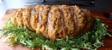 Stuffed Hasselback Turkey Breast