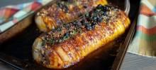 sweet and savory hasselback butternut squash