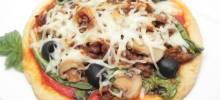 talian escarole pizza