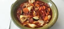 talian Sausage Soup with Tortellini