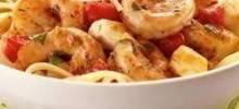 talian Shrimp Caprese Pasta