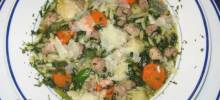 talian Wedding Soup with Orzo