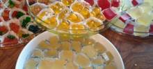 tart lemon drop jelly shots
