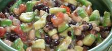 texas caviar with avocado