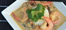 Thai Shrimp Curry with a Kick