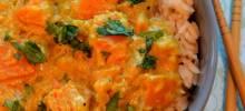 thai-style butternut squash curry
