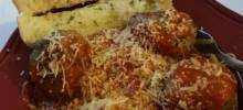 Three Animal talian Meatballs