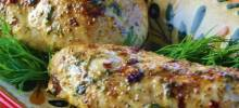 Three-ngredient Baked Chicken Breasts