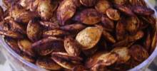 Toasted Pumpkin Seeds Teriyaki Cajun Style