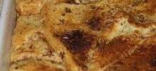 Trishie's Chocolate and Orange Bread Pudding