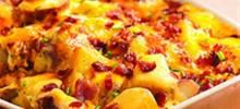twice baked potato casserole from crisco®