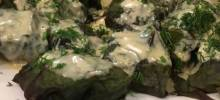 Ukrainian Beet Green Cabbage Rolls