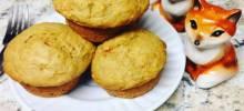 Vegan Carrot Cake Muffins