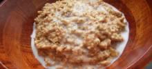 vegan vanilla nut oatmeal