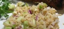 Vegetable Feta Rice