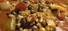 vegetarian southwest one-pot dinner
