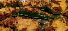 Vegetarian Stuffed Poblano Peppers