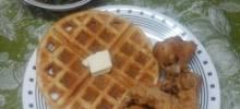 waffle ron cornbread