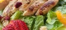 Warm and Limey Chicken Salad