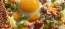 western-side-up egg