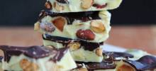 White Almond Bark