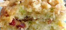 zucchini-coconut cookie bars