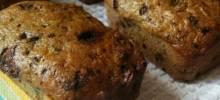 zucchini coconut loaf