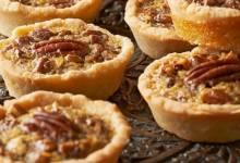 """""""aww nuts!"""" pecan pie minis"""