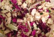 """million dollar"" chinese cabbage salad"