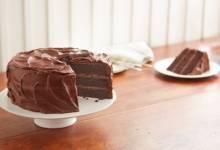 """perfectly chocolate"" chocolate cake"