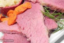 A Slice of Heaven (Baked Corned Beef)