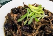 adobong pusit (squid adobo)