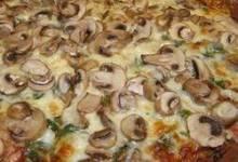 Allie's Mushroom Pizza