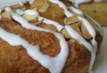 almond crescent buns