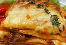 Alysia's Basic Meat Lasagna