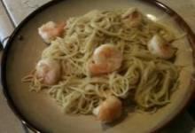 amaretto shrimp almandine