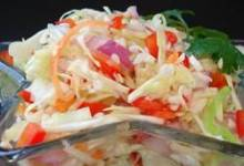 angie's dad's best cabbage coleslaw
