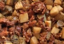 Anna's Linguica and Potato Stew