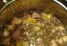 Apple and Pork Stew