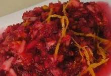 Apple Cranberry Relish