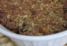 apple mincemeat crumble