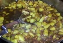 apple raisin compote