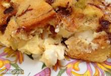 Apple Raisin French Toast Strata