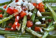 Arica's Green Beans and Feta