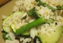 asparagus-zucchini rice