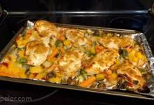 Autumn Rainbow Sheet Pan Dinner