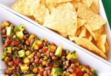Avocado and Black Eyed Pea Salsa