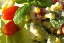 Avocado Corn Salad with Pine Nuts