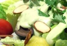 Avocado Green Goddess Dressing