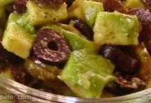 Avocado Olive Salad